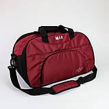 Женская спортивная сумка BLAZE бордовая от MAD | born to win™, фото 3