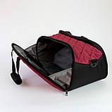 Женская спортивная сумка BLAZE бордовая от MAD | born to win™, фото 5