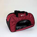 Женская спортивная сумка BLAZE бордовая от MAD | born to win™, фото 7