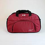 Женская спортивная сумка BLAZE бордовая от MAD | born to win™, фото 8