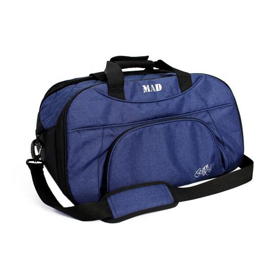 Жіноча спортивна сумка BLAZE темно-синя від MAD | born to win™