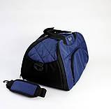 Жіноча спортивна сумка BLAZE темно-синя від MAD | born to win™, фото 5