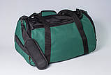 Якісна спортивна сумка каркасної форми TWIST зелена від MAD | born to win™, фото 8