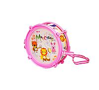 Барабан дитячий 166-20 ( 166-20(Pink) ,в пакеті 22*28см)