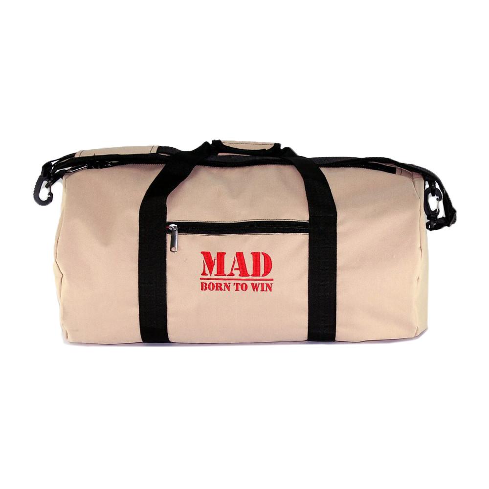 "Спортивна сумка FitGo бежева від ""MAD   born to win™"""