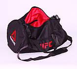 Спортивная сумка Reebok UFC 28л (реплика), фото 2