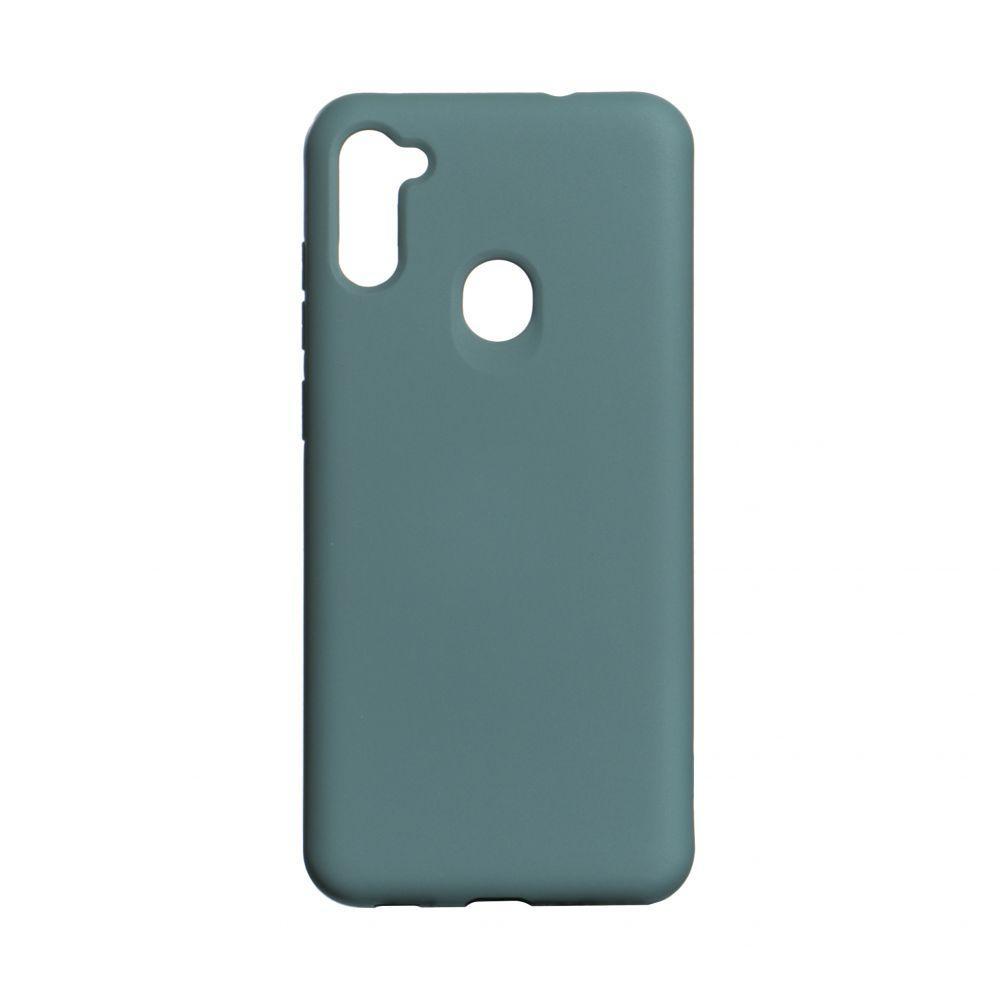 Чехол для SAMSUNG A11 зеленый / Чехол для САМСУНГ А11