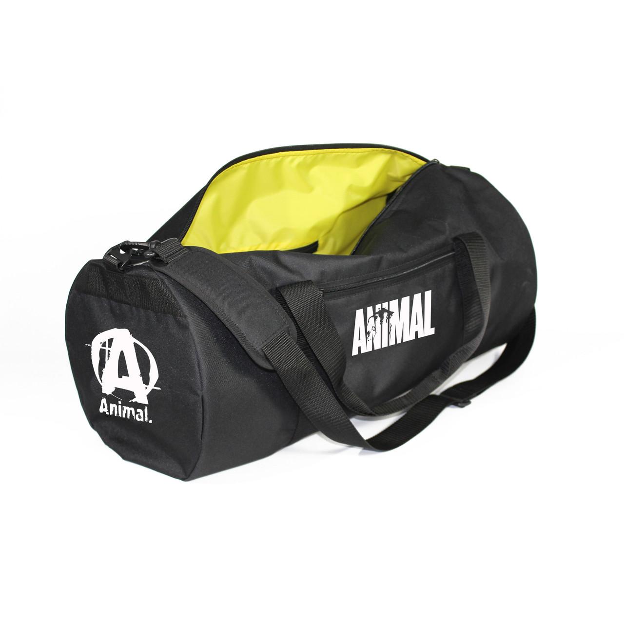 Спортивная сумка Animal 40L бел. (реплика)
