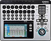 QSC TM16 цифровой микшерный пульт, 16 моно + 2 стерео канала
