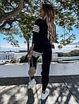 Женский спортивный костюм,  турецкая двунить, р-р 42-44; 44-46 (чёрный), фото 4