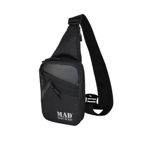 Сумка через плечо AXEL черная от MAD | born to win™