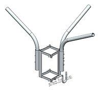 Кронштейн (трехрожковый) для светильника уличного освещения О1С3Г120