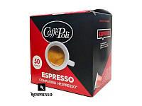 Капсулы кофе неспрессо для кофемашины Caffe Poli Nespresso Espresso
