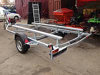 Прицеп лодочный. Длина лодки 5,5 м, вес 800 кг., фото 1