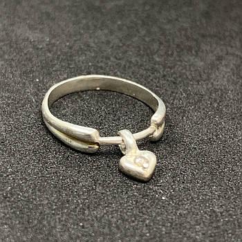Серебряное кольцо БУ 925 пробы, размер 17. Вес - 1,63. Серебряные изделия бу в Украине