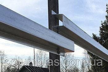 Перемички для парканів з профнастилу - ригель оцинкований.2м. 3м. 4м.