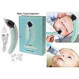 Детский назальный аспиратор электро Infant nasal absorber, соплеотсос электрический, фото 5