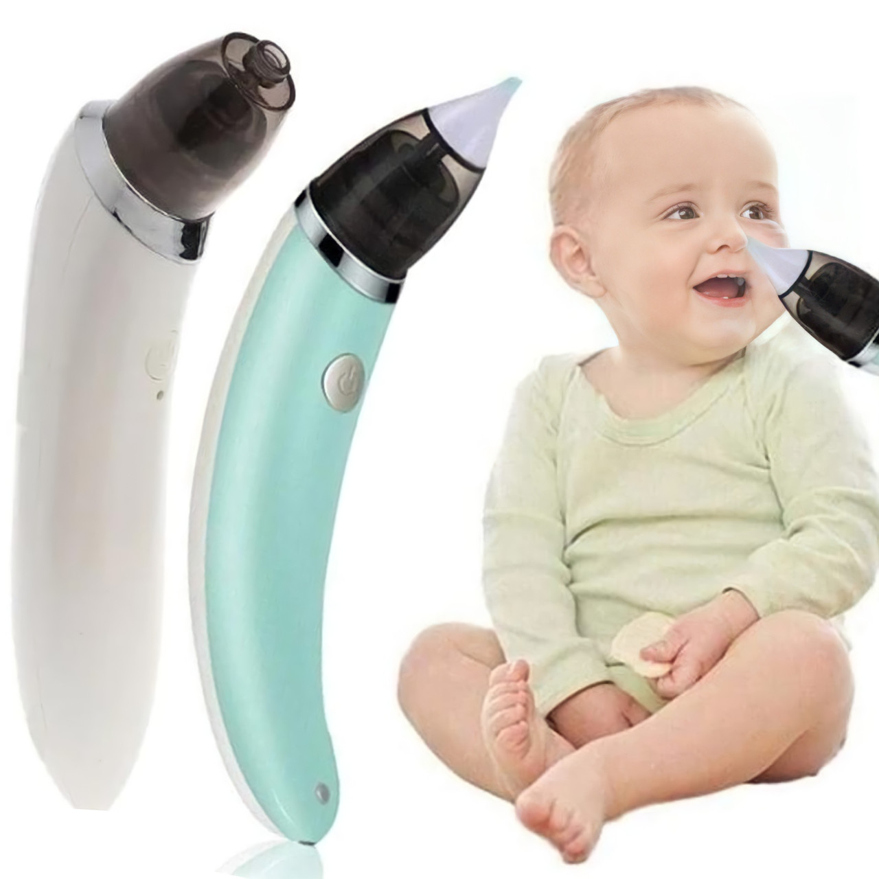 Детский назальный аспиратор электро Infant nasal absorber, соплеотсос электрический