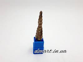Сверло ступенчатое кобальтовое 4-12мм Rapide спиральный профиль шестигранный хвостовик