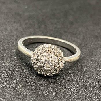 Серебряное кольцо БУ 925 пробы, размер 18. Вес - 2,36г. Серебряные изделия бу в Украине