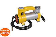 Миникомпрессор автомобильный Miol - с фонариком 12 В, 10 bar, 35 л/мин 1 шт.