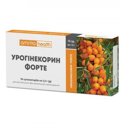 Фитосвечи «Урогинекорин Форте» 10шт.  при воспалительных процессах органов малого таза.
