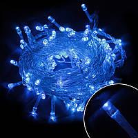 Новогодняя гирлянда 100 led в 100(синяя)