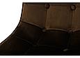 Стілець М-01-3 коричневий вельвет, фото 2