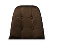 Стілець М-01-3 коричневий вельвет, фото 6