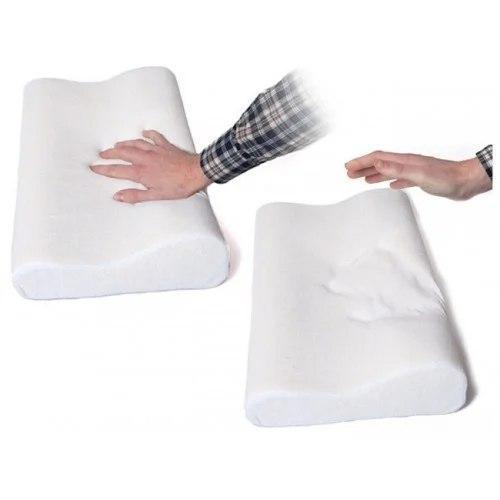 Ортопедическая подушка Comfort Memory Pillow Foam | Умная подушка с памятью Мэмори Пилоу