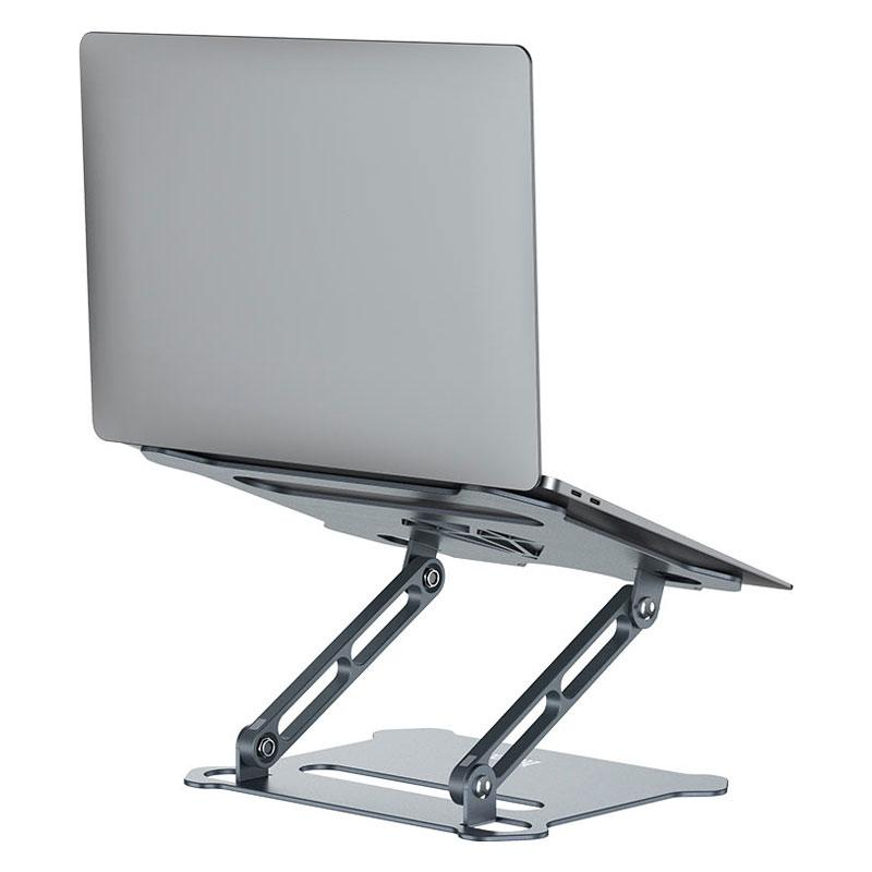Подставка для ноутбука и планшета складная алюминиевая Hoco PH38 с регулировкой высоты и угла наклона