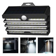 Вуличний прожектор світлодіодний вуличний ліхтар на сонячній батареї Baseus Energy Collection DGNEN-C01