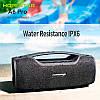 Портативна бездротова Bluetooth колонка Hopestar Original A6 PRO SUPPER BASS Black чорна Speaker, фото 4