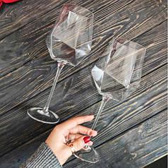 Великий прозорий винний келих для ресторану і кафе 650 мл Бріліант
