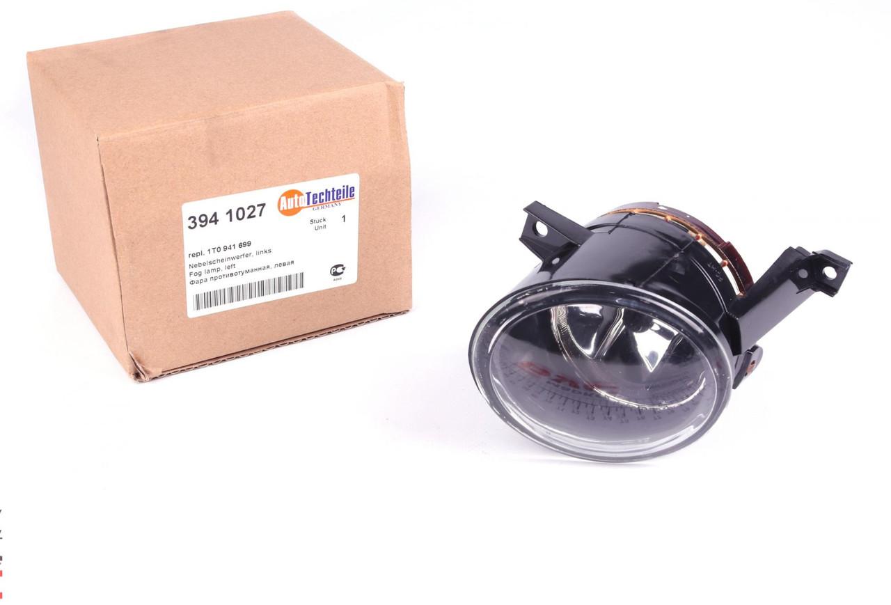 Фара противотуманная VW Caddy III/Touran 03- (левая) (3941027) AUTOTECHTEILE