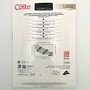 Тонкі ромби з люрексными точками Колготки Conte з візерунками Lusso 20 Den, фото 6