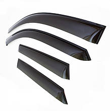 Дефлекторы окон (ветровики) Kia Ceed II Wagon 2012  (Киа Сид) Cobra Tuning