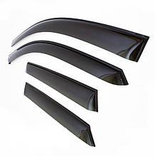 Дефлекторы окон (ветровики) Kia Cerato I Sd 2004-2008 (Киа Керато) Cobra Tuning