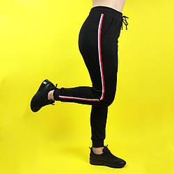 Спортивні штани жіночі Чорні Метелик N-SK-02 (S/M, L)
