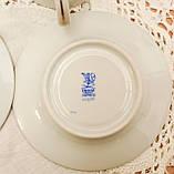 Винтажная фарфоровая кофейная чашка и блюдце, ручная роспись, Венгрия, KALOCSA Porcelain, фото 10