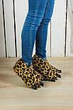 Тапочки-игрушки Леопардовые когти, фото 2