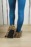 Тапочки-іграшки Леопардові кігті, фото 3