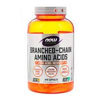 Комплекс Амінокислот з Розгалуженими Ланцюгами Branched Chain Amino Acids Now Foods капсули №240
