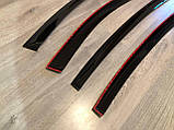 Дефлекторы окон (ветровики) Skoda Fabia II Combi 2007 (Шкода фабия 2 комби) Cobra Tuning, фото 4