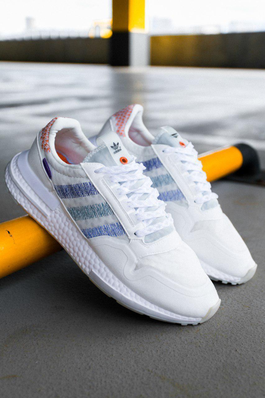 Чоловічі білі кросівки Adidas ZX 500 RM Commonwealth