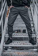 Штаны карго брюки мужские весенние осенние качественные серые Intruder