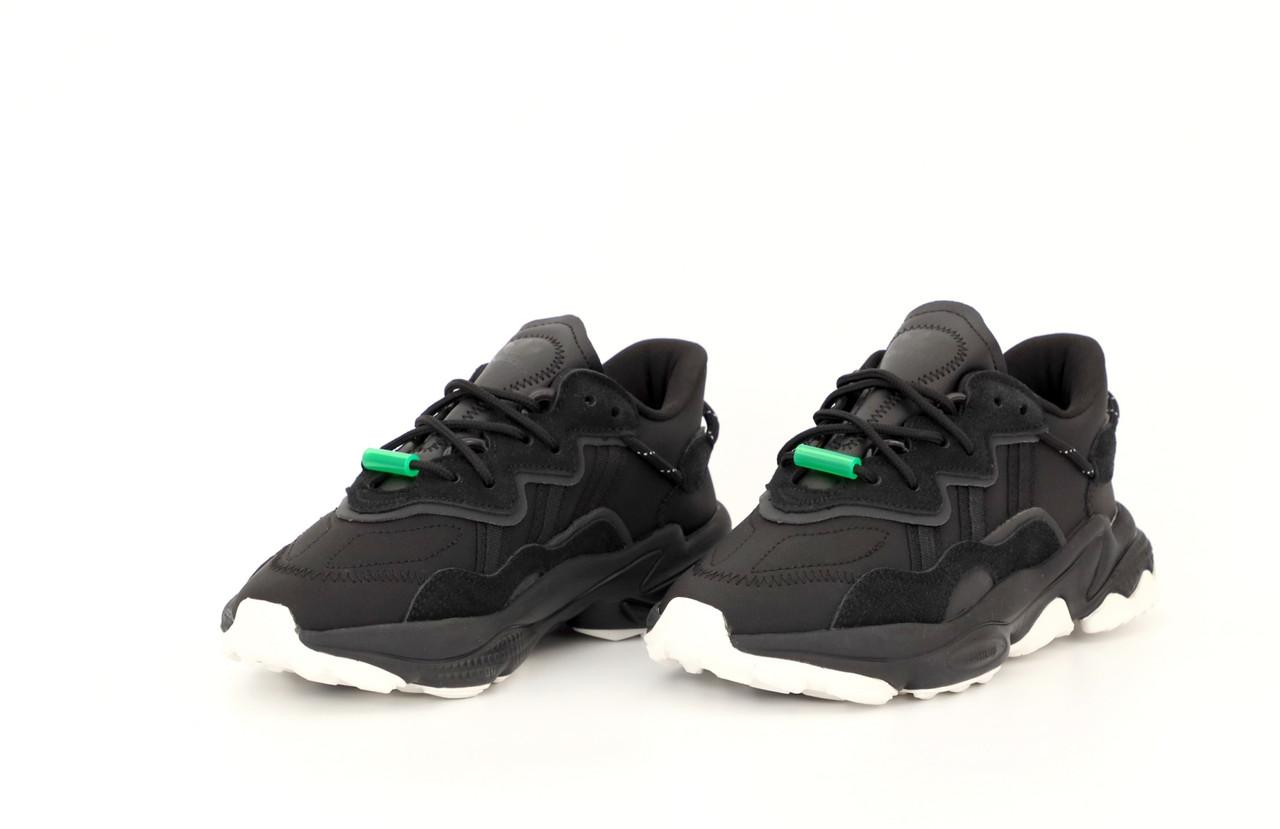 Мужские черные Кроссовки Adidas Ozweego