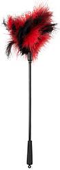 Пір'їнка - 2492121 Feather Wand red / black