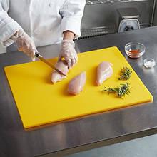 Доска разделочная  желтая HACCP HENDI 450х300х12.7  (сырая птица)