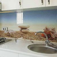 Пляж - Фото стеклянных фартуков